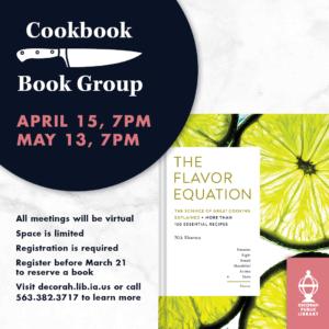 Cookbook Book Group Flavor Equation