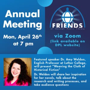 Friends of Decorah Public Library Annual Meeting