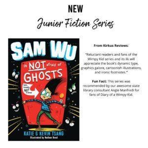 New Junior Fiction Series Titles