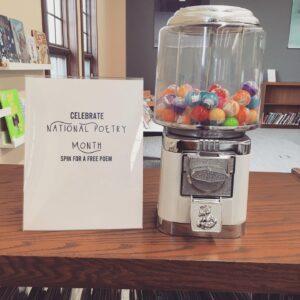 Poetry Vending Machine