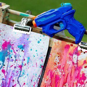 5/24: Take-and-Make Monday: Squirt Gun Painting