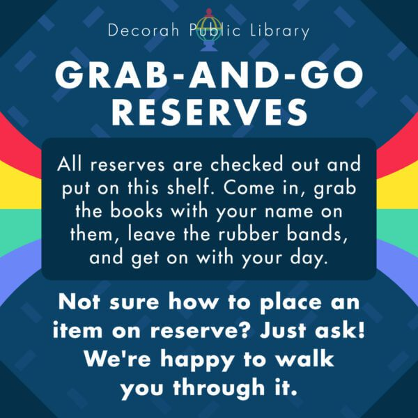 Grab and Go Reserves Image