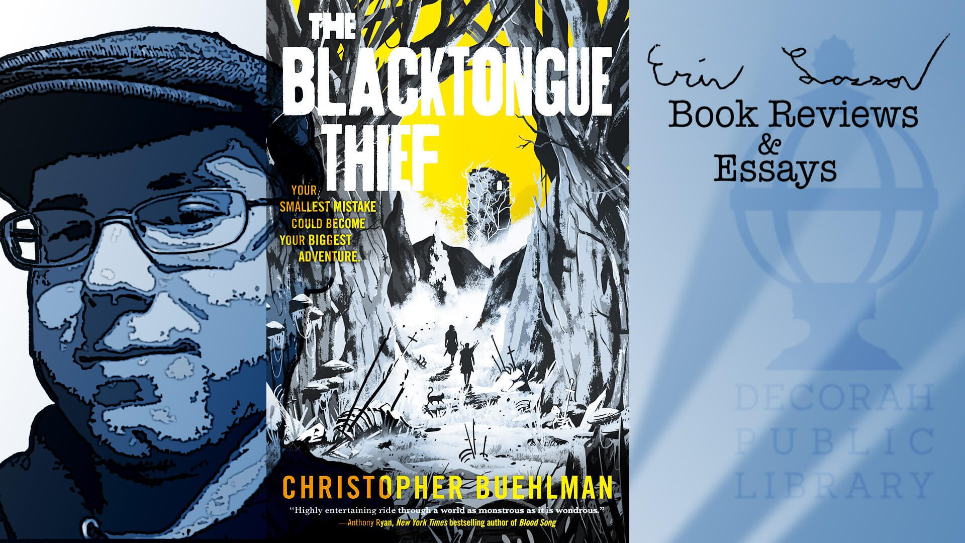 """""""The Blacktongue Thief"""" by Christopher Buehlman"""