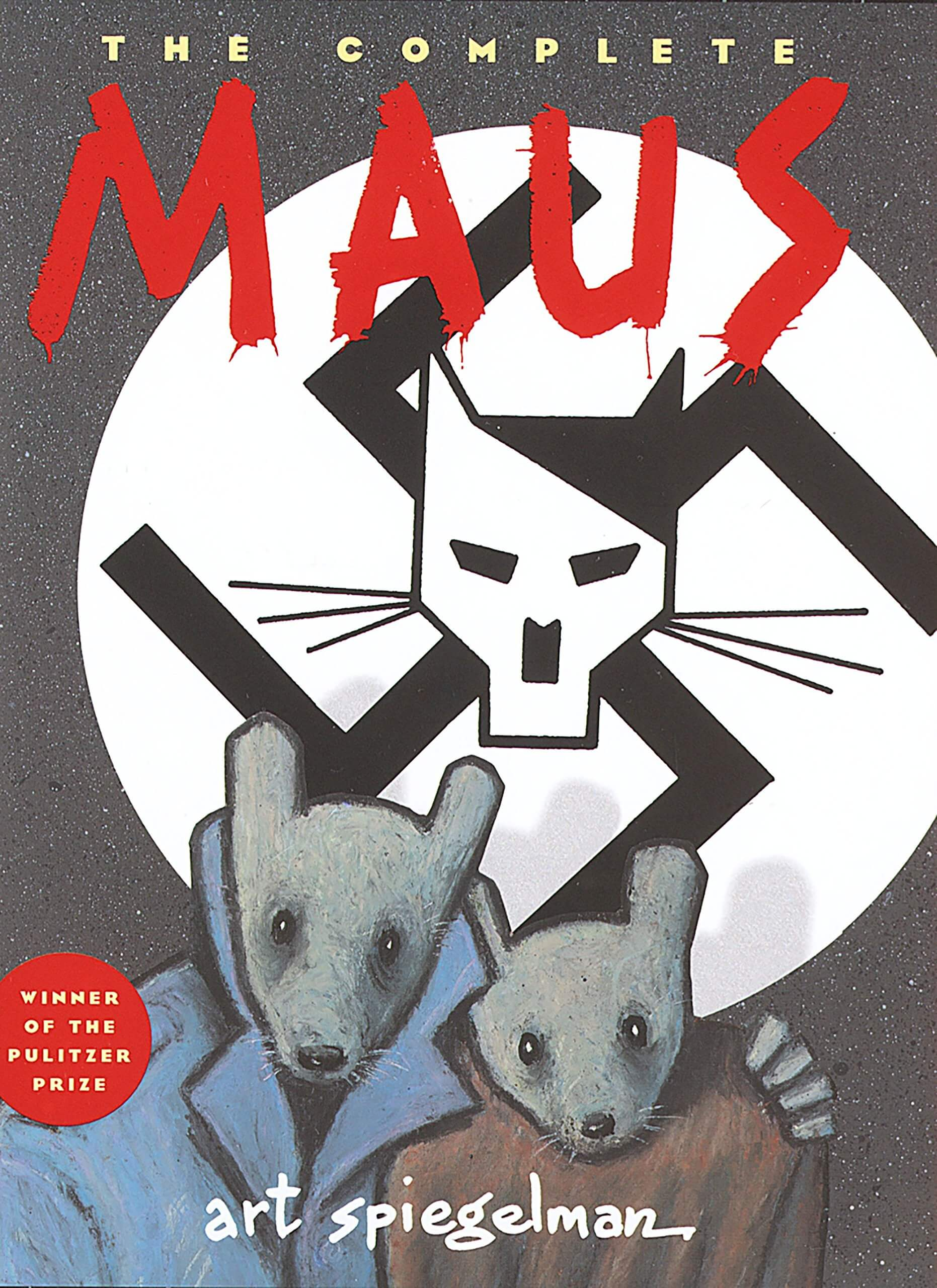 Maus Book Cover Image