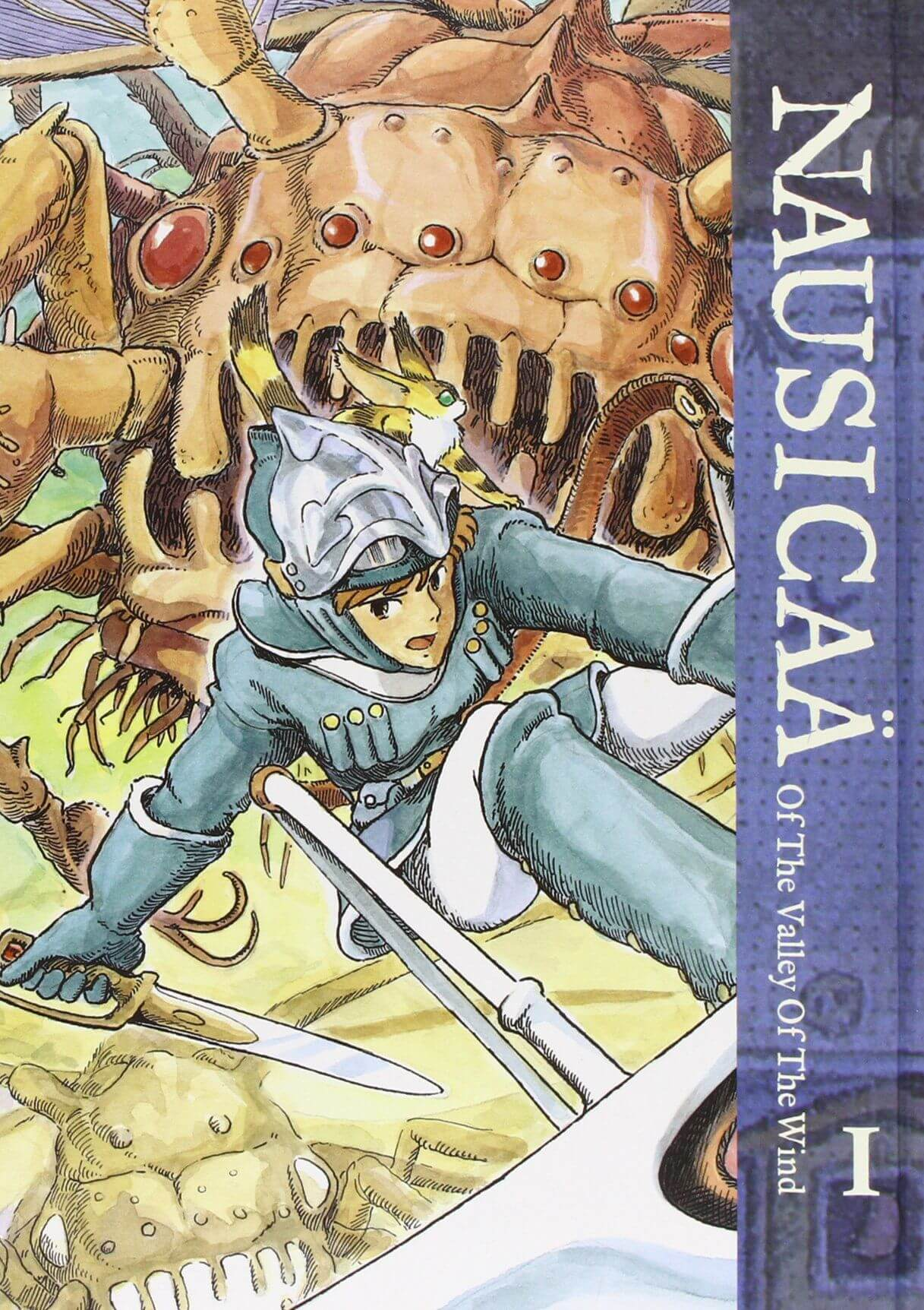 Nausicaä Of The Valley Of The Wind Book Cover Image