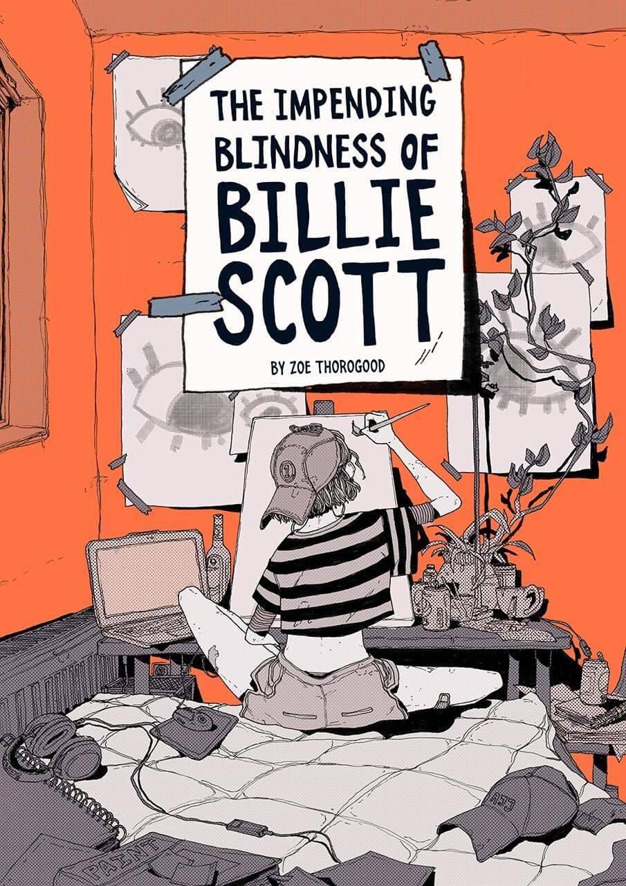 The Impending Blindness of Billie Scott Book Cover Image