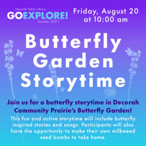 Butterfly Garden Storytime