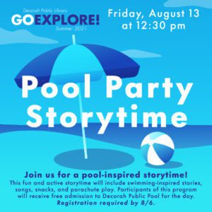 Pool Party Storytime