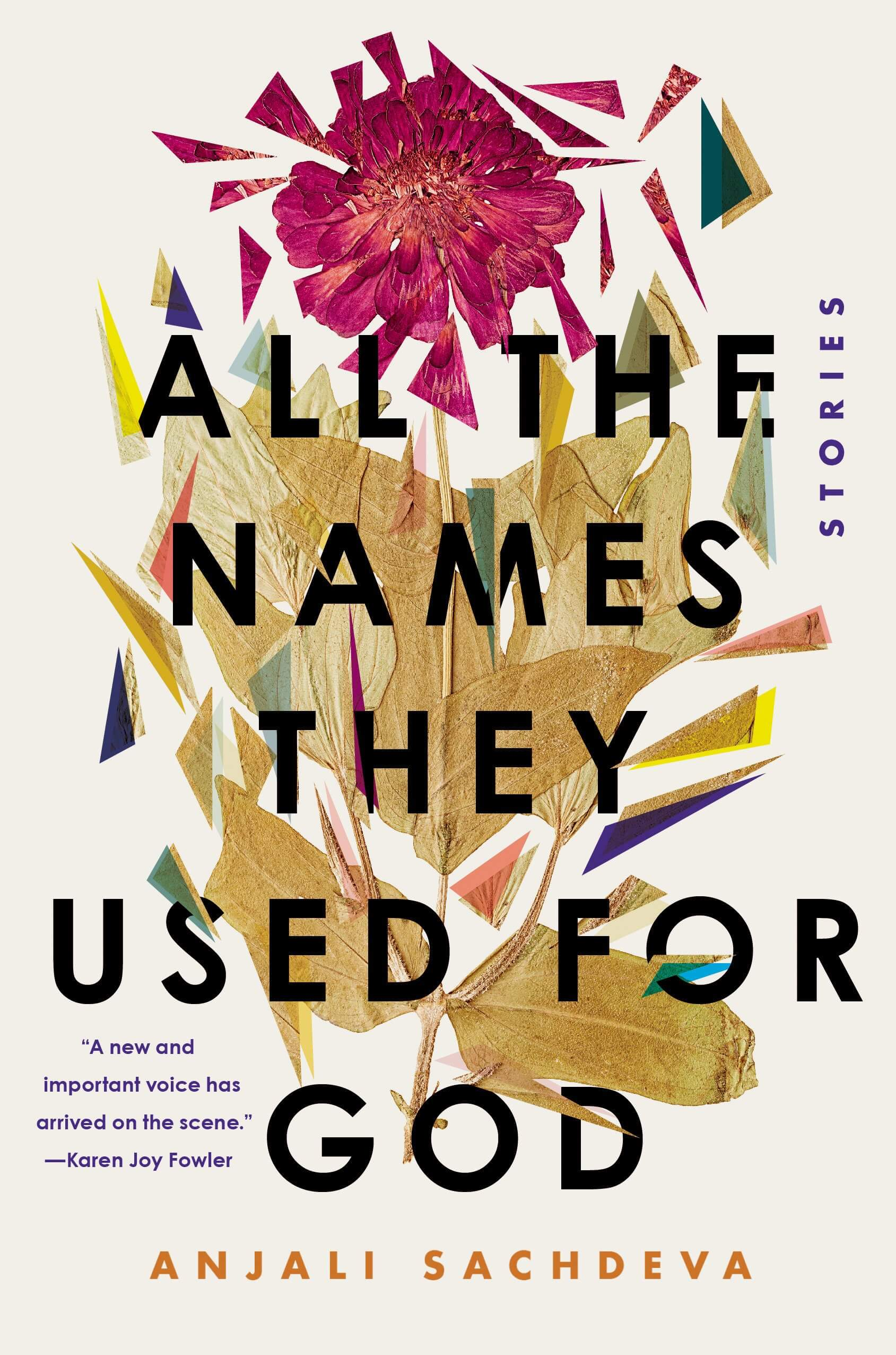 All the Names They Used For God book cover image