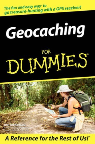 Geocaching for Dummies book cover image