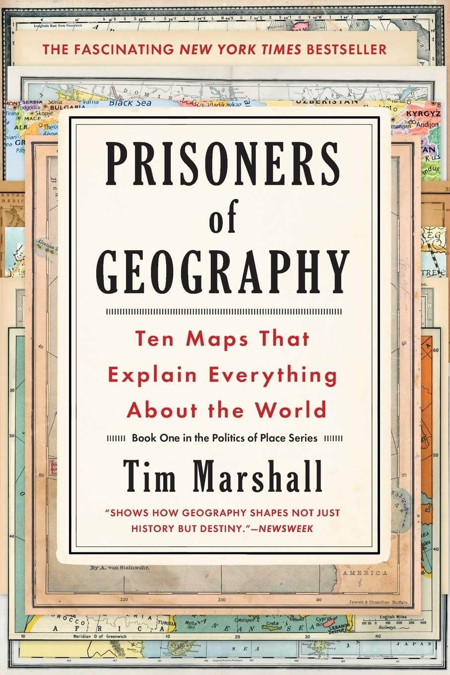 Prisoners of Geography Book Cover Image