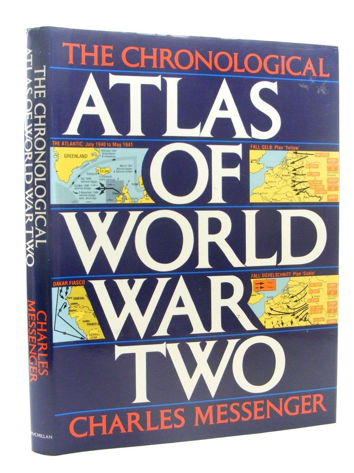 The Chronological Atlas of World War Two book cover image