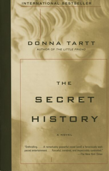 The Secret History book cover image