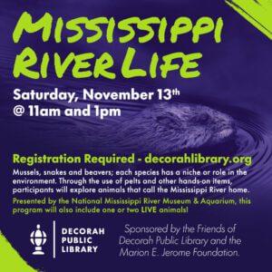 Mississippi River Life Program