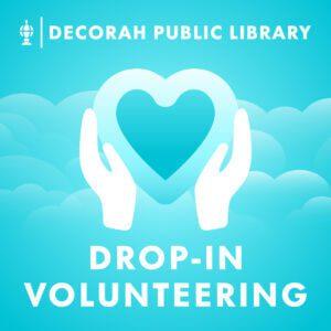 Teen Drop-In Volunteering Decorative