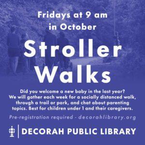 Stroller walks graphic