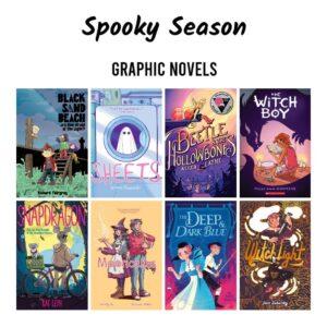 YA Friday-graphic Novels for Spooky Season