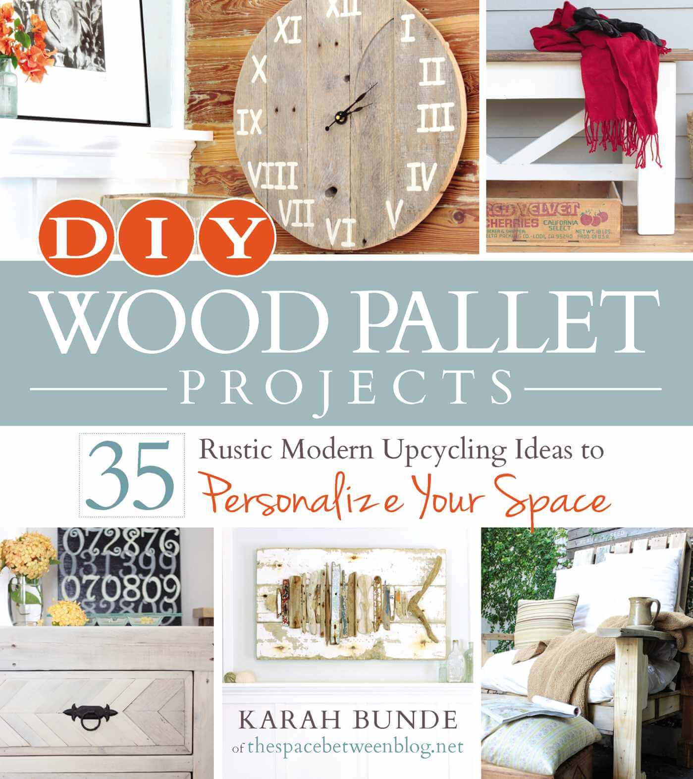 DIY Wood Pallet Projects book cover image