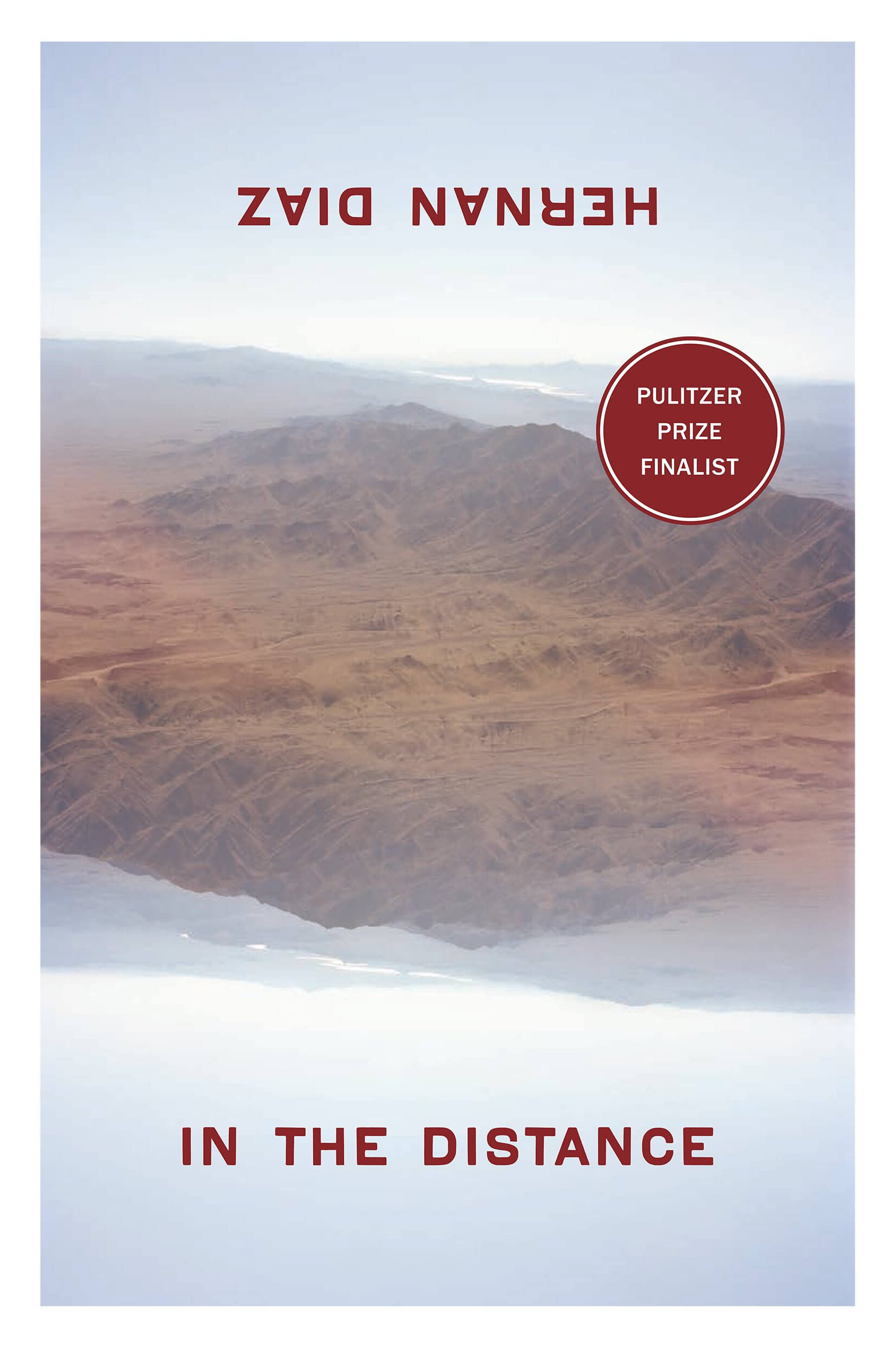 In the distance book cover image