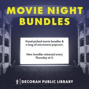 Movie Night Bundle Decorative Image