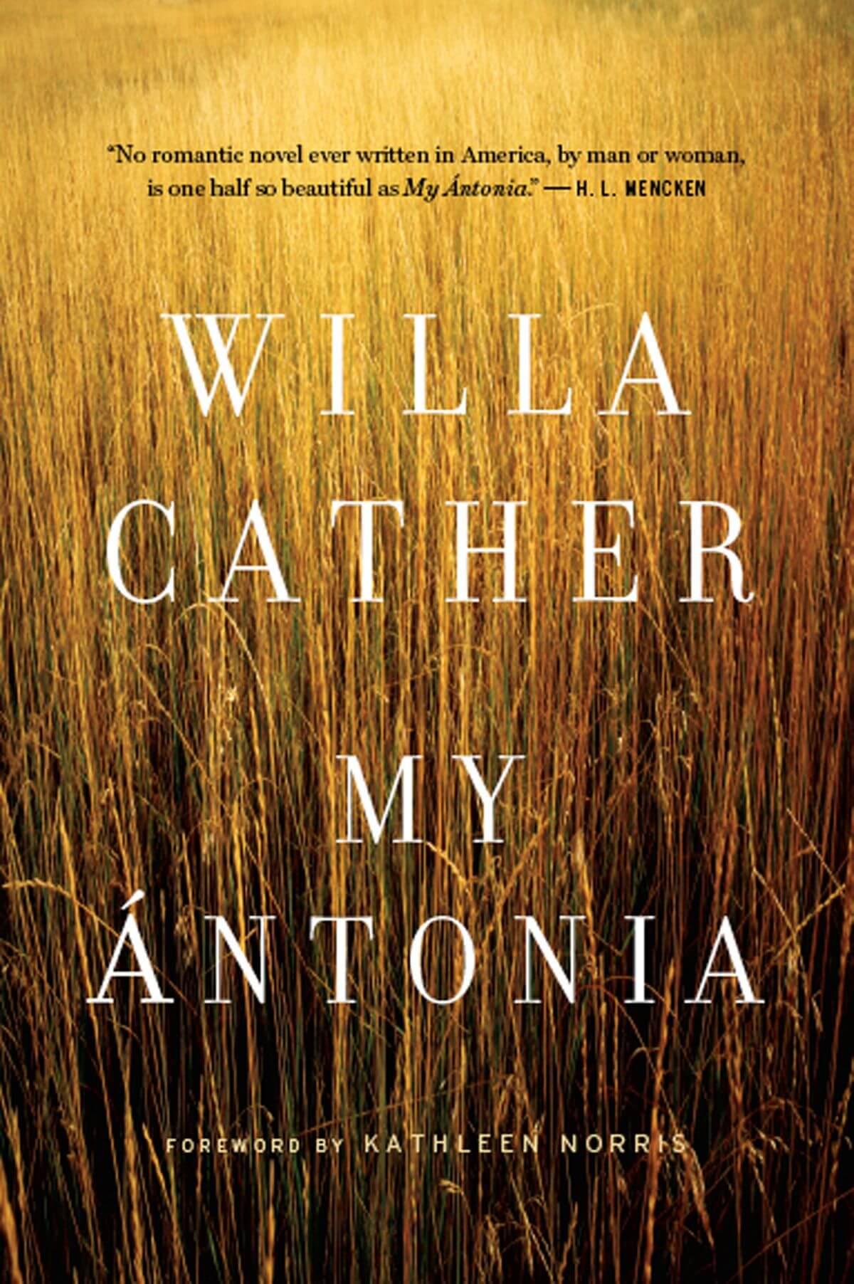 My Antonia book cover image