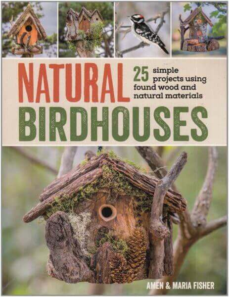 Natural Birdhouses book cover image