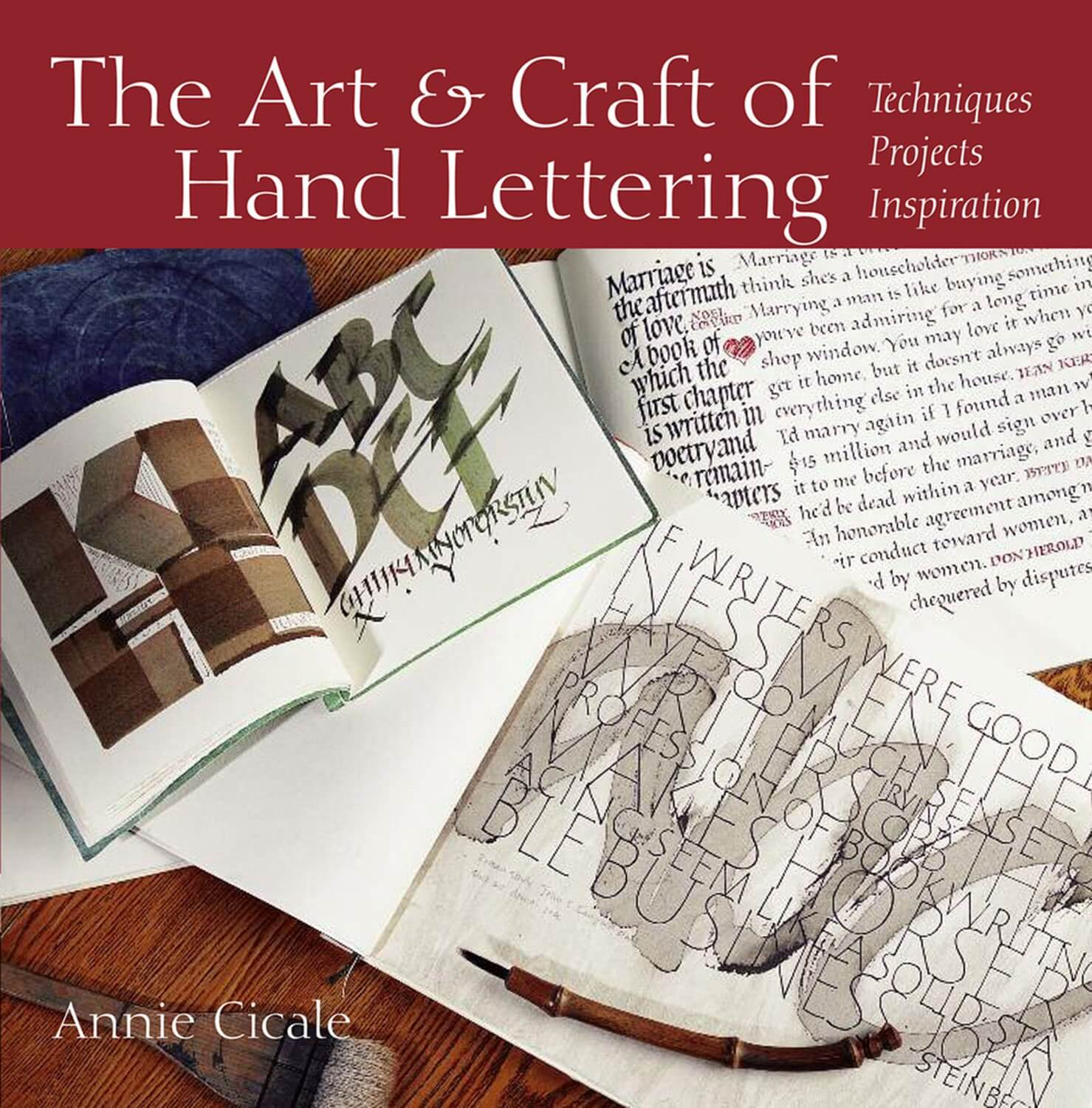 The Art and Craft of Hand Lettering book cover image