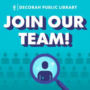 Library Aide (Two Positions Available) – Decorah Public Library