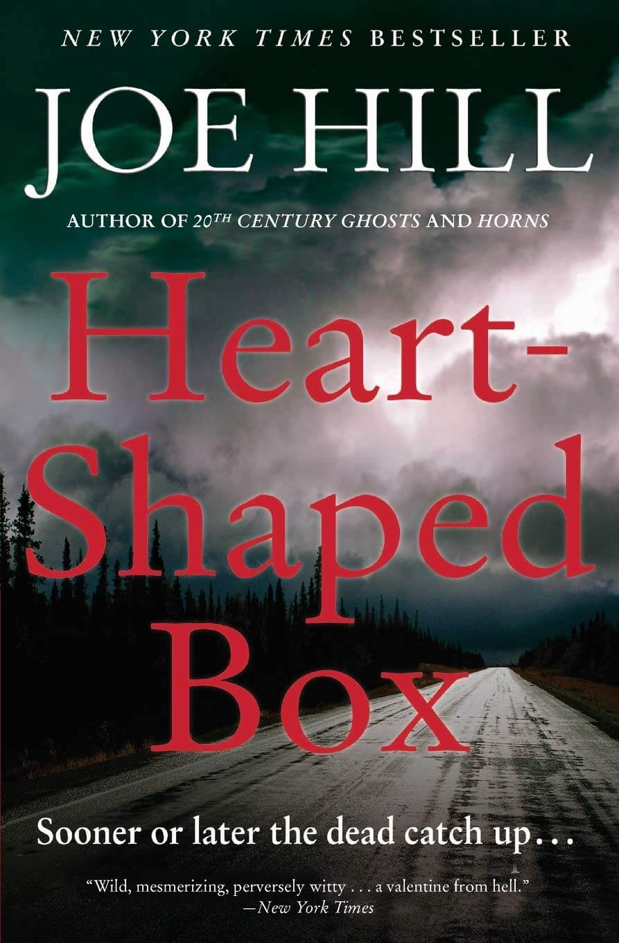 Heart-Shaped Box book cover image